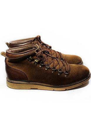 Мужские ботинки кожа hudson англия