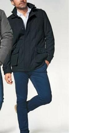Тёплое мужское полу-пальто французского бренда kiabi  европа о...