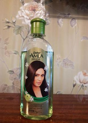 Масло для волос с ароматом жасмина Dabur Amla Jasmine