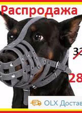 Намордник для собак (немецкая овчарка, доберман, далматинец, с...