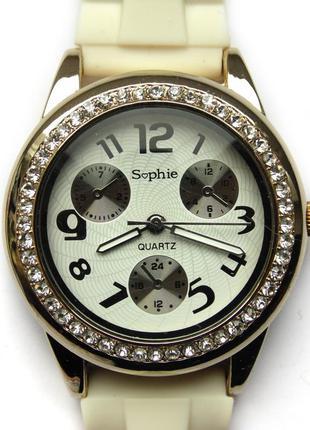 Sophie часы со стразами вокруг циферблата из сша механизм japa...