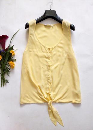 Лёгкая блуза с завязками