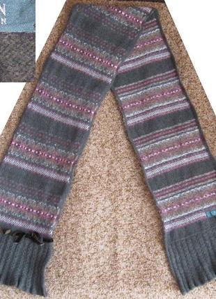 Шерстяной шарф от ralph lauren