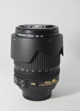Объектив Nikon, Nikkor 18-105. + полярик+ УФ фильтр.