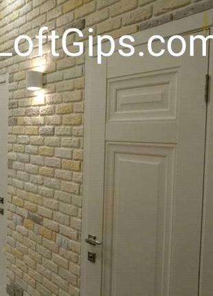 Укладка гипсовой плитки кирпича Киев от 150 грн м2