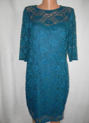 Нарядное кружевное платье redhering
