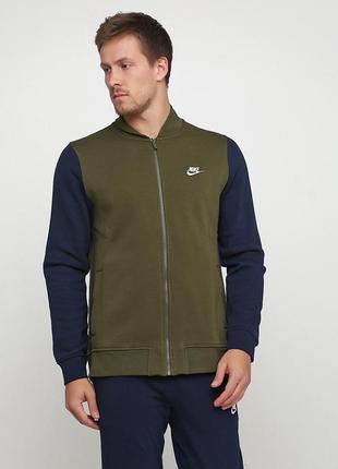 Кофта свитшот худи nike sportswear club оригинал! - 30%