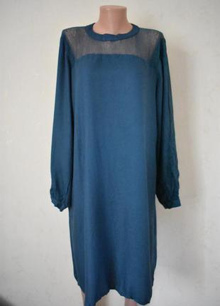 Новое красивое натуральное платье большого размера