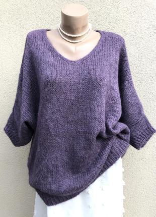 Вязаная кофта,мозер,шерсть,свитер,джемпер,реглан,пуловер,больш...