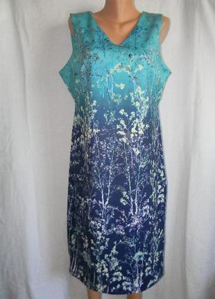 Новое платье с красивым принтом per una