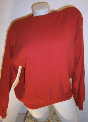 Свободный свитер джемпер шерсть ангора кашемир barberini