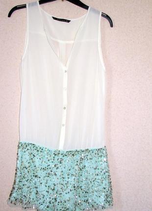 Zara ромпер женские шорты+ кофта