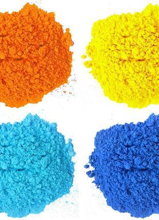 Натуральні фарби Холі (Гулал), опт від 1 кг., Краска Холи