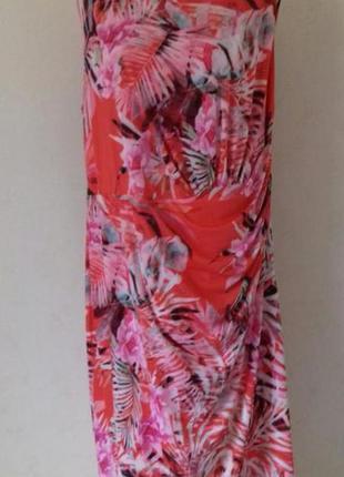 Новое очень красивое платье с принтом большого размера monsoon