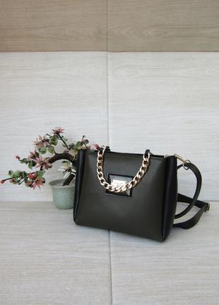Восхитительный клатч черного цвета handmade