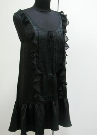 Lux. супер легкое платье neybrf класса люкс черное