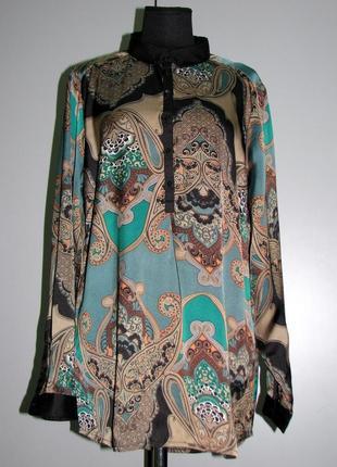 #soyaconcept  яркая блузка туника рубашка # зеленая с черным