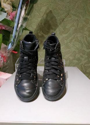 Кеды ботинки оригинал с германии детские демисезонные 33р geox
