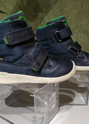 Сапожки  ботинки демисезонные для мальчика 25р ecco