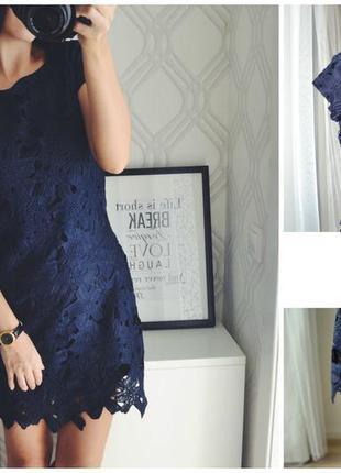 Шикарное нарядное платье 👗 с кружевом от petals