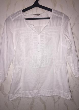 Белая блузка 👚 в школу или офис