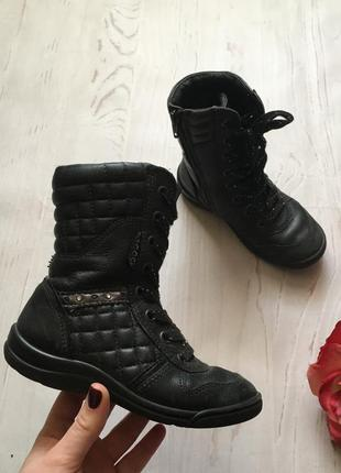 Демисезонные ботинки/сапожки/ecco(27р)