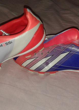 Футбольные копы бутсы Adidas оригинал 22 см в идеале