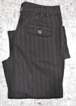 Oliver  # широкие брюки высокая талия # палаццо  черный шоколад
