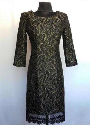 Стильное кружевное платье. новое, р-ры 42-46