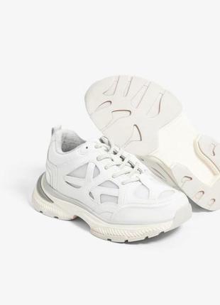 Кроссовки белые zara
