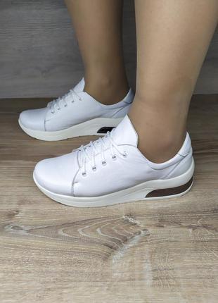 Кожаные кроссовки 36 37 38 39 размера ,шкіряні кросівки