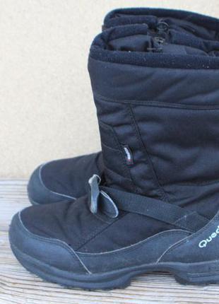 Зимние ботинки quechua текстиль франция 39р  дутики