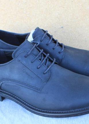 Новые туфли ecco gore-tex кожа дания оригинал 40р ботинки