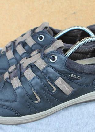 Кроссовки gabor кожа германия 39р ботинки непромокаемые