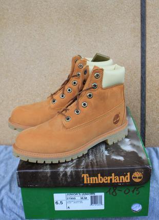 Новые ботинки timberland кожа сша 39 оригинал