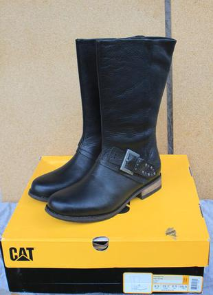 Новые сапоги cat кожа сша 39,39,5,40,41 оригинал ботинки cater...