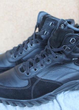 Ботинки gallus gallu-tex кожа германия 40р непромомкаемые