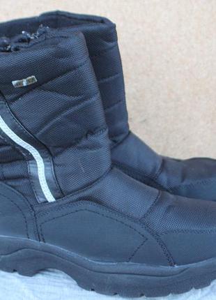 Зимние ботинки easy to west англия 41р непромокаемые дутики