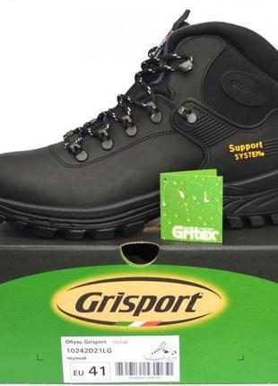 Новые ботинки grisport кожа италия 43,45р непромокаемые с мехом