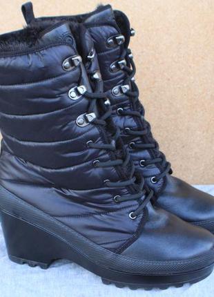 Зимние ботинки rockport кожа сша 38,5 р