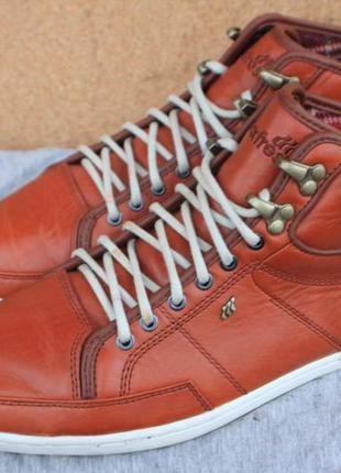 Ботинки boxfresh кожа англия 40р кеды кроссовки