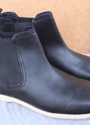 Ботинки jean lauren кожа англия 44р челси