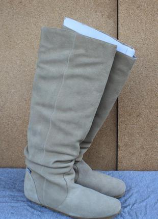 Сапоги lacoste замша оригинал франция 39р ботинки