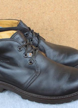 Ботинки panama jack кожа испания 43р туфли