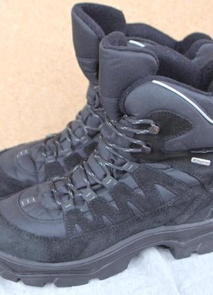Зимние ботинки klepper замша германия 41р непромокаемые