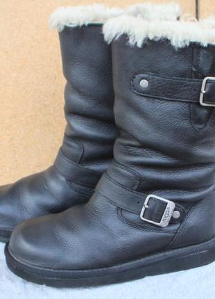Угги ugg кожа оригинал сша 37р ботинки сапоги