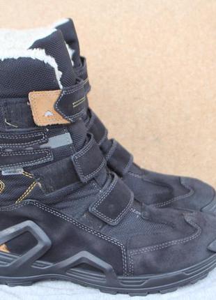 Зимние ботинки ricosta замша германия 41р непромокаемые