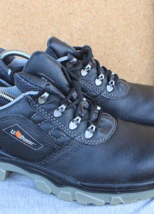Рабочие ботинки u-power кожа италия 43р с металическим носком