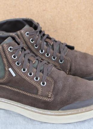 Ботинки geox замша италия оригинал 43р непромокаемые кеды