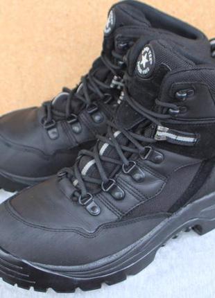 Ботинки army tex кожа швейцария 42р непромокаемые